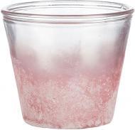 Кашпо скляне Sandra Rich Vintage круглий 2л (1091-12-11) рожевий