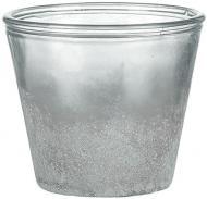 Кашпо скляне Sandra Rich Vintage круглий 2л (1091-12-12) сірий