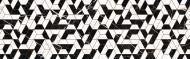 Плитка InterCerama Riva Декор сірий Д 192071 25x80