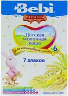 Каша молочная Bebi 7 злаков 3838471020961 200 г