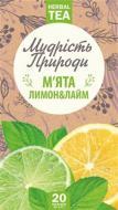 Чай трав'яний Фіто-Україна М'ята лимон лайм 20 шт. 1,5 г