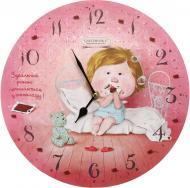 Годинник настінний Dolce Vita Шоколад Gapchinska