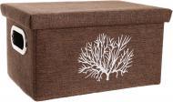 Короб текстильний з кришкою Корал FB25-S