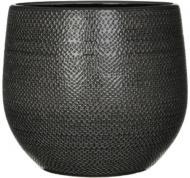 Горщик керамічний Edelman Gabriel круглий 12,5л (182057) сірий