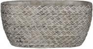 Кашпо керамічне Edelman Alma Oval овальний 5,5л (59076) сірий