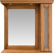 Зеркало со шкафчиком Ваші Меблі Мрамор 90