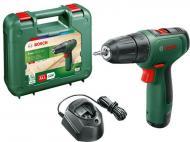 Шуруповерт акумуляторний Bosch EasyDrill 1200 + 1 акб PBA 12V 1.5 Ah O-A + зарядний пристрій GAL 1210 CV + кейс 06039D3006
