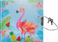 Блокнот детский Malevaro Фламинго на замочке (481804-U)