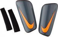 Щитки футбольні Nike Mercurial Hard Shell Slip р. L сірий