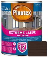 Деревозащитное средство Pinotex extreme lazure stay clean палисандр полумат 1 л