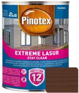 Деревозащитное средство Pinotex extreme lazure stay clean тик полумат 1 л