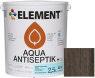 Лазур-антисептик Element Aqua венге шовковистий глянець 2,5 л