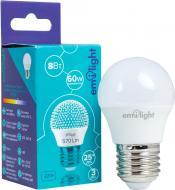 Лампа світлодіодна Emilight 8 Вт G45 матова E27 220 В 4000 К