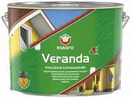 Краска Eskaro Veranda белый полумат 2,85 л