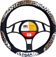 Чохол на руль H&R Safari леопард чорний