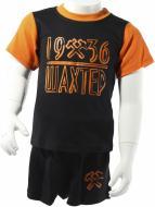 Костюм детский Шахтар р. 98 чорний із помаранчевим 2303