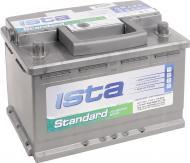 Акумулятор автомобільний Ista  Standard 6CT-77 77А 12 B «+» праворуч