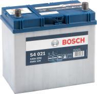 Акумулятор автомобільний Bosch 6СТ-45 45А 12 B «+» праворуч