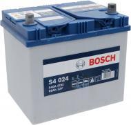 Акумулятор автомобільний Bosch 6СТ-60 60А 12 B «+» праворуч