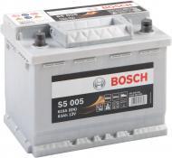 Акумулятор автомобільний Bosch 6СТ-63 63А 12 B «+» праворуч