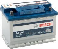 Акумулятор автомобільний Bosch  6СТ-74 74А 12 B «+» праворуч