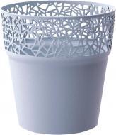 Горщик пластиковий Prosperplast Tree круглий 3.2л (78996-656) сірий