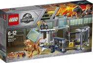 Конструктор LEGO Jurassic World Втеча стигомолоха з лабораторії 75927