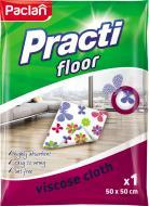 Ганчірка для підлоги Paclan floor 50х60см см 1 шт./уп. білий із малюнком