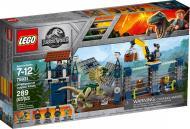 Конструктор LEGO Jurassic World Напад дилофозавра на блокпост 75931