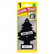Ароматизатор подвесной Little Trees Черный лед