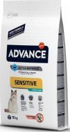 Сухой корм для кошек Advance Cat Sterilized Salmon Sensitive 10 кг. для стерилизованных котов и коше