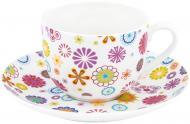 Чашка с блюдцем Blumen 230 мл 21-244-014 Krauff