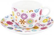 Чашка с блюдцем Blumen 100 мл 21-244-015 Krauff