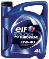 Моторне мастило Elf Evolution 700 Turbo Diesel 10W-40 4л (203701)