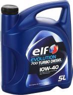 Моторне мастило Elf Evolution 700 Turbo Diesel 10W-40 5л (201553)