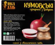 Сухарики кумовські з цибулею 80г 4820219910152