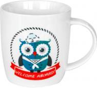 Чашка Морские совы Матрос 360 мл 21-272-066 Keramia