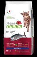 Сухой корм Trainer Natural Super Premium Adult with Tuna для взрослых кошек от 1 года 1.5 кг.
