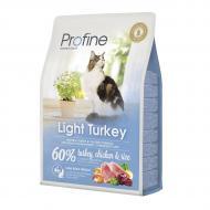 Сухой корм Profine Cat Light 2 кг для кошек с лишним весом (индейка и курица)