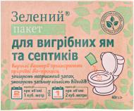 Біопрепарат Зеленый пакет для вигрібних ям та септиків