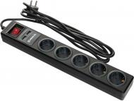 Фільтр-подовжувач REAL-EL REAL-EL із заземленням 5 гн. чорний 1,8 м RS-5 USB CHARGE 1.8m, black