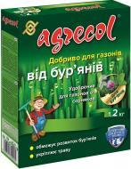 Добриво мінеральне Agrecol для газонів проти бур'янів 1,2 кг