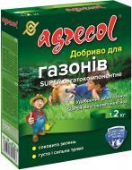Добриво мінеральне Agrecol Super для газонів багатокомпонентне 1,2 кг