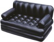 Диван Bestway Comfort Quest 188х152 см трансформер надувний чорний