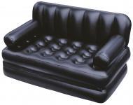 Диван Bestway Multi Max Comfort Quest 188х152 см трансформер надувний з електронасосом чорний