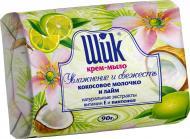 Крем-мыло Шик Кокосовое молочко и лайм 90 г