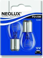 Лампа розжарювання Neolux P21/5W BAY15D 12 В 21/5 Вт 2 шт 3200 K