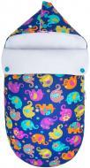 Конверт для новорожденных GoForKid Индия LC 40х75 см синий/разноцветный 1330-202-922-1