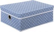 Короб для зберігання Vivendi Navy blue 160x400x300 мм