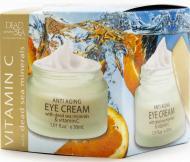 Крем для обличчя Dead Sea Collection проти зморшок для шкіри навколо очей з вітаміном С і мінералами Мертвого моря 50 мл